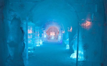 Safari to the ice hotel 7 days